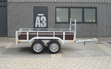 Aanhangwagen 257x132 cm
