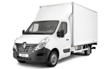 Renault Master meubelbak met lift
